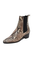 The Archive Mercer Mid Booties Snake