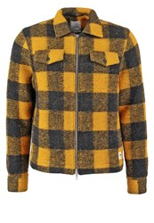 Wood Wood Dale Summer Jacket Lemon Checks Yellow