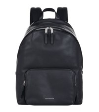 Burberry Shoes And Accessories Grain Leather Backpack Unisex Black