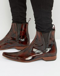 Jeffery West Pino Chelsea Boots Brown