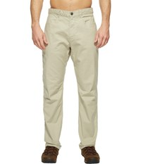 The North Face Relaxed Motion Pants Granite Bluff Tan Men's Casual Pants White