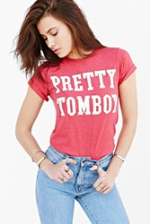 Bdg Pretty Tomboy Tee Red