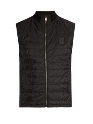 Dolce And Gabbana Quilted Gilet Black