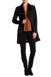 Soia And Kyo Belted Trench Coat Black