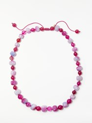 Lola Rose Mobi Necklace Cherry Agate