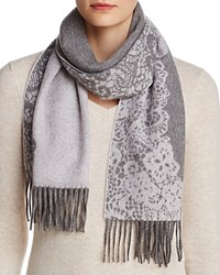 Bloomingdale's C By Lace Cashmere Scarf 100 Exclusive Light Rose