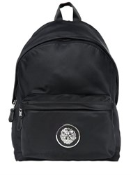Versus Lion Medallion Nylon Backpack