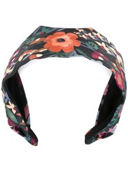 Red Valentino Floral Print Headband Multicolour