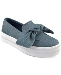 G By Guess Chippy Bow Sneakers Women's Shoes Denim