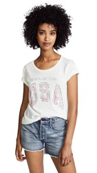 Sol Angeles Born In The Usa Tee D White