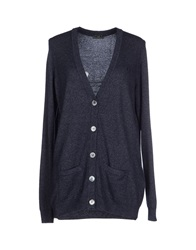 Fred Perry Cardigans Slate Blue