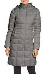 The North Face Women's 'Metropolis Ii' Hooded Water Resistant Down Parka Tnf Medium Grey Heather