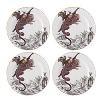 Christian Lacroix Reveries Bread And Butter Plate Set Of 4