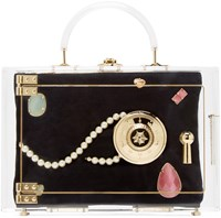 Charlotte Olympia Transparent Heirloom Case Box Clutch