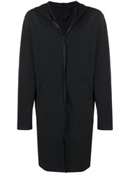 Alchemy Midi Hooded Jacket Black