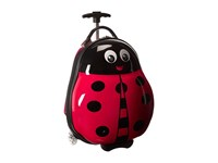 Heys America Travel Tots Kids Luggage And Backpack Lady Bug Backpack Bags Red