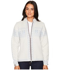 Dale Of Norway Sunniva Jacket A Off White Ice Blue Women's Coat