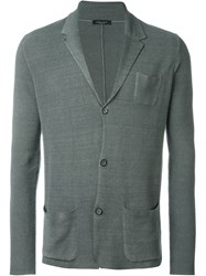 Roberto Collina Knit Blazer Grey