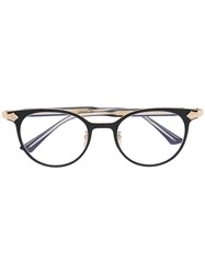 Gucci Eyewear Round Frame Glasses Black