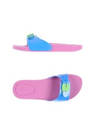 Scholl Clog Sandals Purple