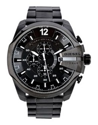 Diesel Wrist Watches Black
