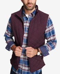 Weatherproof Vintage Men's Quilted Full Zip Stand Collar Vest Created For Macy's Windsor Wi