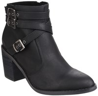 Rocket Dog Deon Zip Up Boots Black