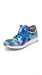 Adidas By Stella Mccartney Cc Sonic Sneakers Dark Blue White Granite