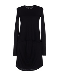 Superfine Short Dresses Black