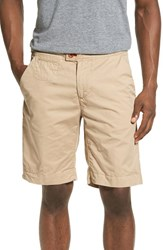 Psycho Bunny Men's 'Triumph' Cotton Shorts Khaki