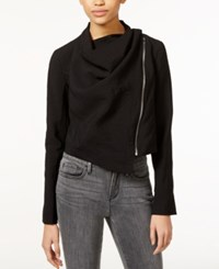 Rachel Rachel Roy Shauna Draped Zip Front Jacket