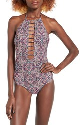 Volcom Women's Sea La Vie One Piece Swimsuit