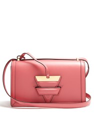 Loewe Barcelona Leather Shoulder Bag Light Pink