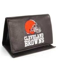 Rico Industries Cleveland Browns Trifold Wallet Black