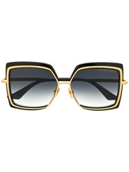 Dita Eyewear Oversized Square Sunglasses Black