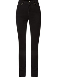 Amapa High Waist Skinny Jeans Black