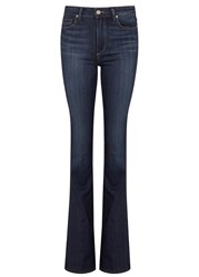 Paige Canyon Frenchie Flared Leg Jeans Denim