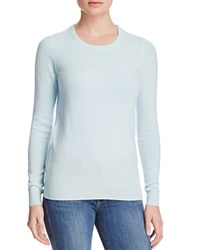 Bloomingdale's C By Crewneck Cashmere Sweater Sky Blue
