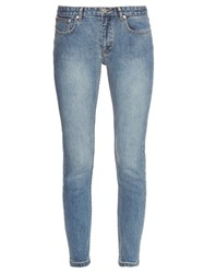 A.P.C. Moulant Mid Rise Skinny Jeans