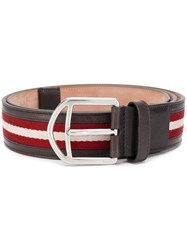 Bally Novo Belt Brown