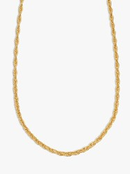 Daisy London Isla Rope Chain Necklace Gold