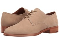 Frye Erica Oxford Taupe Oiled Nubuck Women's Shoes Brown