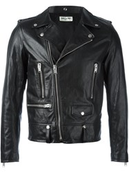 Saint Laurent Classic Motorcycle Jacket Black
