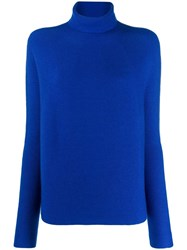 Christian Wijnants Roll Neck Sweater Blue