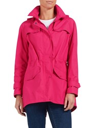 Four Seasons Performance Parka Jacket Pink Silver