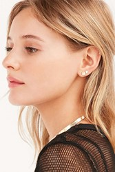 Urban Outfitters Phoenix 3D Post Earring Set Gold