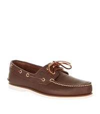 Timberland Classic Boat Shoes Male Brown
