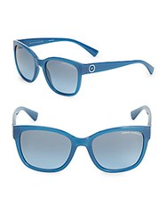 Giorgio Armani 54Mm Wayfarer Sunglasses Blue