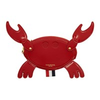 Thom Browne Red Crab Pouch