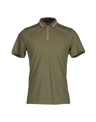 Trussardi Jeans Polo Shirts Military Green